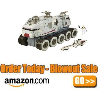 Star Wars Clone Wars Turbo Tank Vehicle